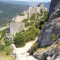 "Burg Peyrepertuse, ""Das himmlische Carcassonne"""