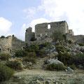 Wohngebäude von Burg Aguilar