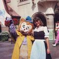 Sabine - 1984 - mit 24 Jahren in Disney World