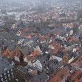 Blick vom Falkenkasten über die Marburger Oberstadt. Foto: Jonas Hagge