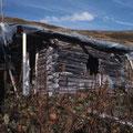 Pfruondberg-Hütte vor Abbruch