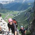 "Via Feratta ""Piscadu"", Nr Corvara, Dolomites"
