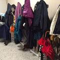 Die rappelvolle Garderobe