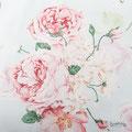Muster: Blumen in rosa und hellblau