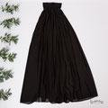 Langes Abendkleid in schwarz für Umstandskleider