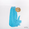 Tolles Babybauch Kleid in mint, türkis, hellblau