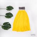Cooles sommerliches Outfit und Styling für Babybauchfotos in Baden-Württemberg
