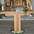 Altar in Unterbäch