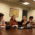 Rencontre de l'AIF:  Daniela Reiter, Esther Suter et Danielle Lévy