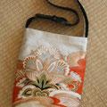 3) Tasche aus Obibrokat, gefüttert