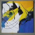 """Titel: Trilogie 3 """"Verwunschen"""" - 60 x 60 cm - 200,00 €"""
