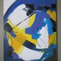 """Titel: Trilogie 2 """"Verwunschen"""" - 60 x 60 cm - 200,00 €"""