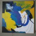 """Titel: Trilogie 1 """"Verwunschen"""" - 60 x 60 cm - 200,00 €"""