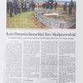 Article in Schwäbische Zeitung