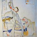 o.T. | Schnitt-Collage | 50 x 40 cm