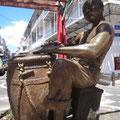 Trommlerstatue, ein Kultplatz