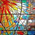"""Sonnenwunder-Fenster in der Kapelle """"Maria Dores"""""""