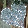 Sculpture arbre de Vie en pâte de verre artisanale