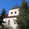1. Außenansicht der Altengönnaer Kirche (Christiane Geßner, 2020)