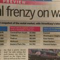 Das sind die Durchschnittspreise für Durchschnittswohnungen. In Manhattan südlich des Central Parks: Schlappe 7550$ monatlich.