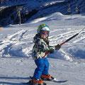 Daniel gefällt es supergut im Schnee