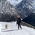 Lasko profite des magnifiques montagnes Suisse