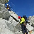 Les Pointe de Mourty en Suisse, Matthieu Brignon Guide à Aussois, Haute-Maurienne