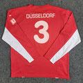 Trikot, Heimtrikot, Saison 2007/2008, Fortuna Düsseldorf, matchworn, Nr. 3, Puma, Die Toten Hosen, LTU