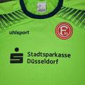 Trikot, Torwarttrikot, Saison 2017/2018, Fortuna Düsseldorf, Jugend, U19, matchworn, Nr. 1, Maduka Okoye, Uhlsport, Stadtsparkasse Düsseldorf