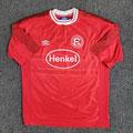 Trikot, Heimtrikot, Saison 2000/2001, Fortuna Düsseldorf, Jugend, U19, matchworn, Nr. 20, Umbro, Henkel