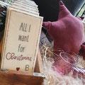 ... die richtigen Servietten dürfen zum Adventscafe & beim Festessen nicht fehlen ♥