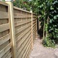 Bau eines sichtschutzzaunes aus Holz von GreenFairway e.K.