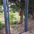Gartentor inkl. Doppelstabmattenzaun von GreenFairway e.K.
