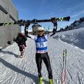 Beaufort Architekt bei der WWMG2020 Ski-Alpin am Patscherkofel