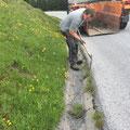 Wasserrinnen putzen Oberlech, mit U1600