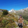 Panoramaweg beim Abstieg Richtung Flims/Laax