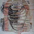 Corpus | Schnitt-Collage | 60 x 50 cm