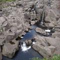 Wasserfall mit Badepools