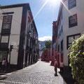 Hauptstraße in Santa Cruz