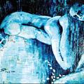 1998; Narcissos, Acryl auf Leinwand