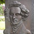 Felix Mendelssohn-Bartholdy, Bronze, Granit