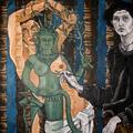 2001; Das Kambodschanische Idol, Acryl auf Leinwand