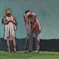 20x20 Golfer