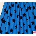 lillestoff - jeans stars, kobaltblau - bio-jersey