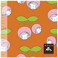 nosh - cherry friends, cinnamon orange - biojersey