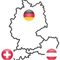 Deutschland, Österreich, Schweiz - wir sind länderübergreifend tätig.