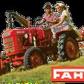 Fahr D90 Traktor (Quelle: SDF Archiv)