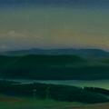 Озеро АБРАУ-ДЮРСО 1999 (холст,масло) 35х100