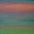 PINK CLOUD 2001 (oil on canvas) 60x90