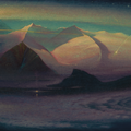 BOUNDLESSNESS 1996 (oil on canvas) 33x90